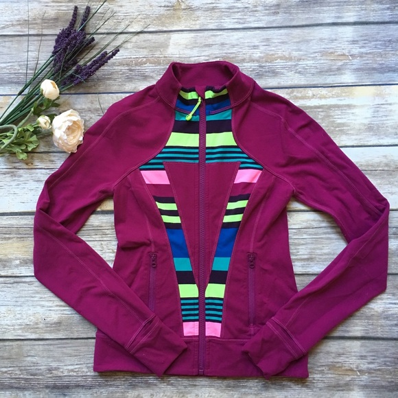 a369ba2a0ae932 Ivivva Jackets & Coats   Girls Full Zip Maroon Jacket 10   Poshmark